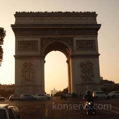 Франция. День 7. Ночь в Париже