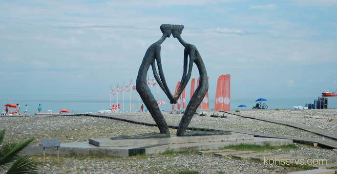 Памятник любви в Батуми