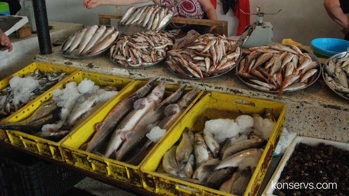 Рыбка в Батуми