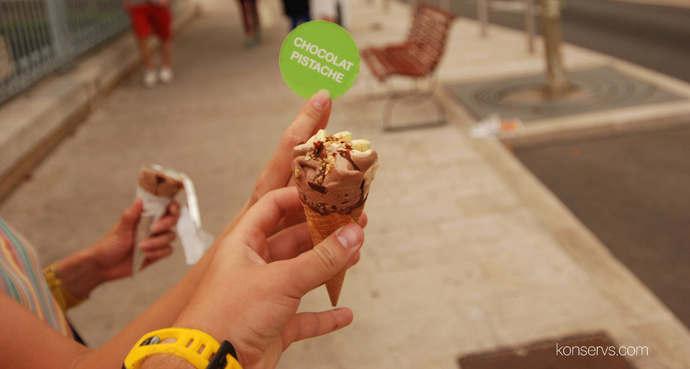 Мороженое в Каннах