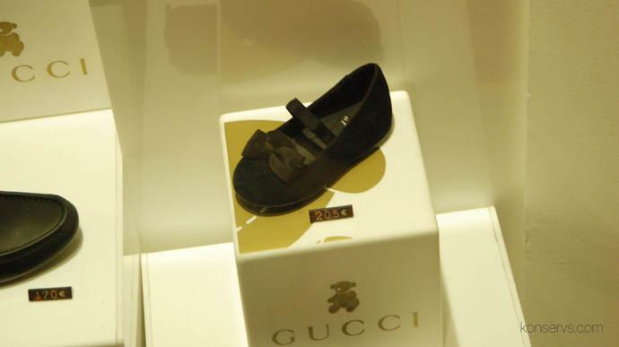 Детская обувь от Gucci