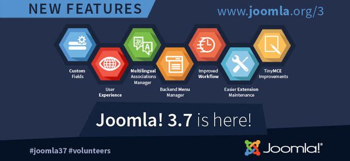 Вышла Joomla 3.7