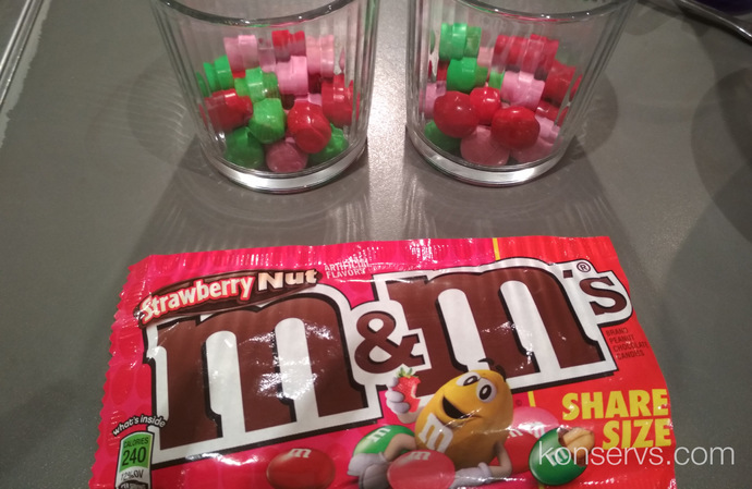 Strawberry M&Ms