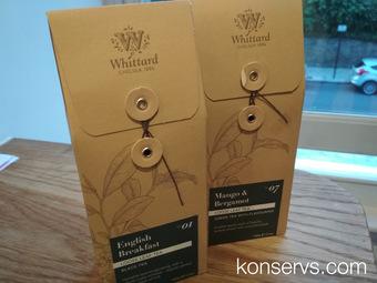 Чай из Whittard