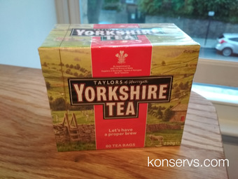 Йоркширский чай
