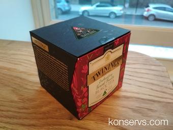 Черный Twinings в красивой коробке