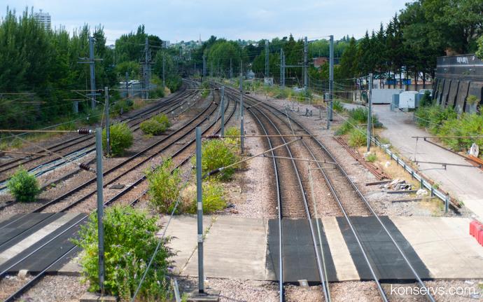 TfL Rail, DLR и Overground