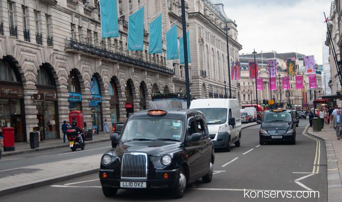 Кэбы - Лондонские такси