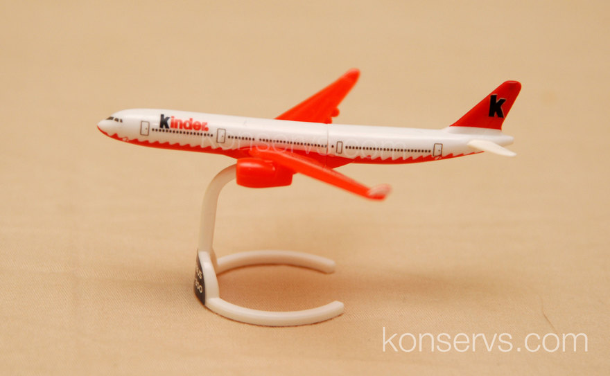 Kinder Surprise Airbus A330-300