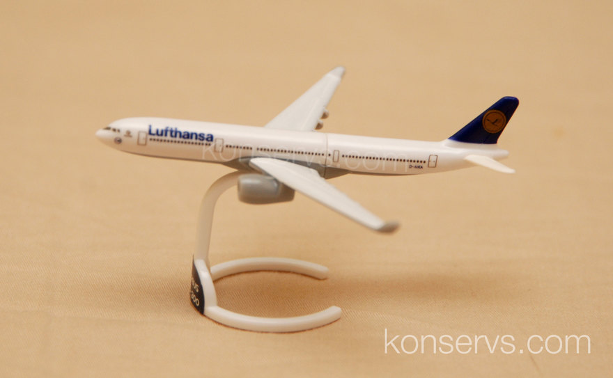 Kinder Surprise Airbus A330-300 by Lufthansa