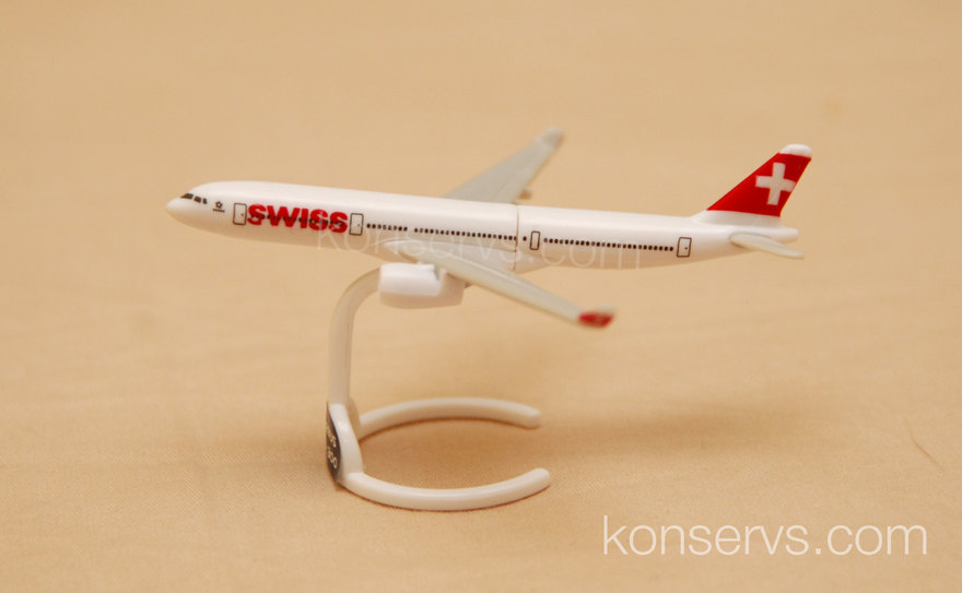 Kinder Surprise Airbus A330-300 by Swiss Airlines
