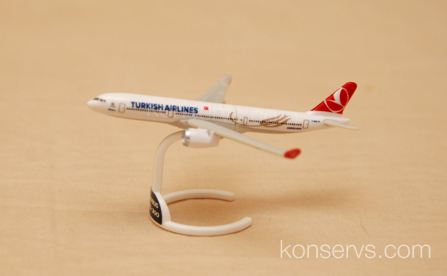 Kinder Surprise Airbus A330-300 by Turkish Airlines